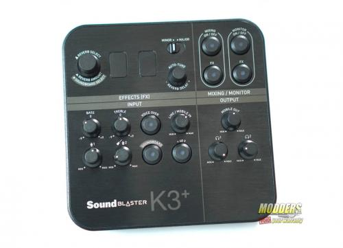 Sound Blaster K3+ Audio Interface DSC01856
