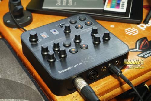 Sound Blaster K3+ Audio Interface DSC01868