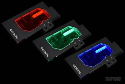 Alphacool announces the Eisblock GPX GPU waterblocks Eisblock GPX Plexi RGB