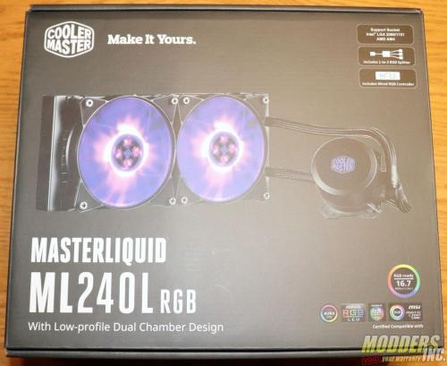 Cooler Master MasterLiquid ML240L RGB Review IMG 0310