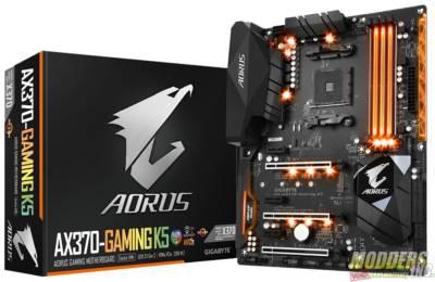 Gigabyte AORUS AX370-Gaming K5 X370 Gaming K5 Board 0