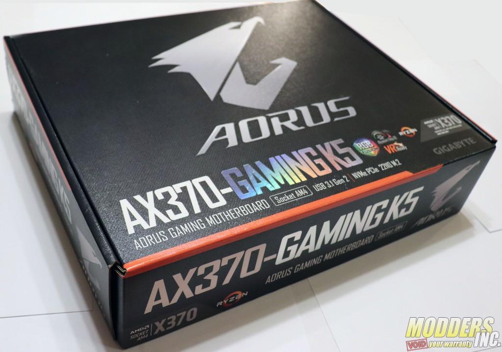 Gigabyte AORUS AX370-Gaming K5 X370 Gaming K5 Box 8