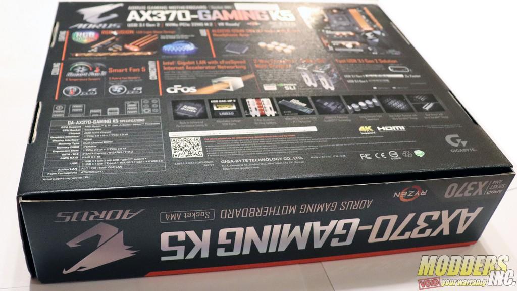 Gigabyte AORUS AX370-Gaming K5 X370 Gaming K5 Box 9