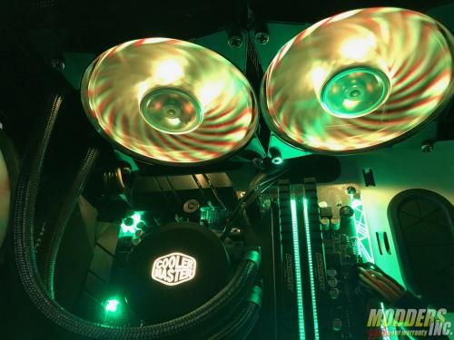 Cooler Master MasterLiquid ML240L RGB Review AIO, rgb, Water Cooling 4