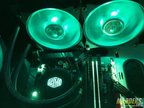 Cooler Master MasterLiquid ML240L RGB Review AIO, rgb, Water Cooling 3