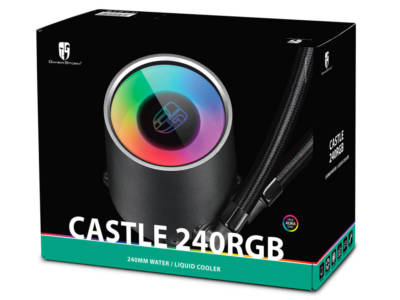 Deepcool Gamerstorm Launches CASTLE 240/280RGB AIO Cooler, Deepcool, water cooling kit 1