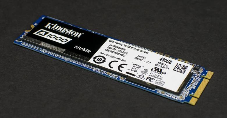 Photo of Kingston A1000 NVMe SSD Review