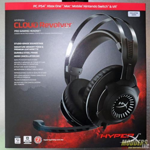 HyperX Cloud Revolver Gaming Headset Cloud Revolver, Gaming, Headphones / Audio, Headset, HyperX, mic 4