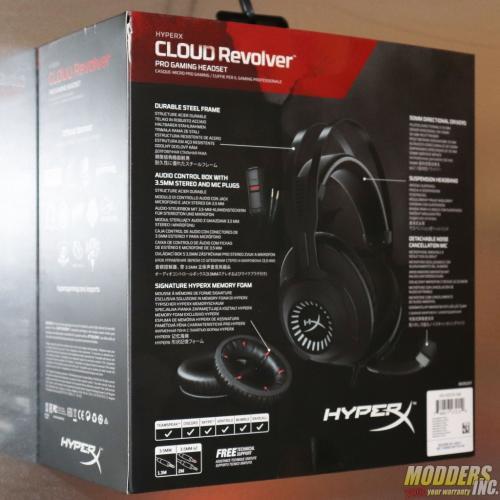 HyperX Cloud Revolver Gaming Headset Cloud Revolver, Gaming, Headphones / Audio, Headset, HyperX, mic 6