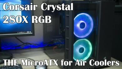 Corsair Crystal 280X RGB Video Review Case, Corsair, micro atx, rgb 26