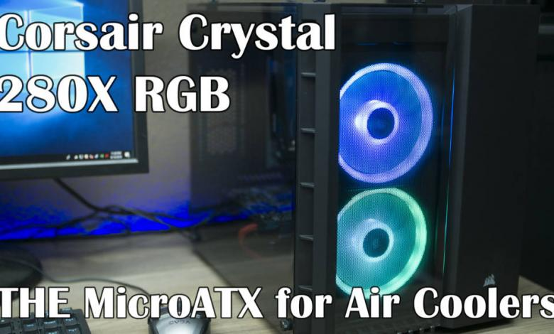 Photo of Corsair Crystal 280X RGB Video Review