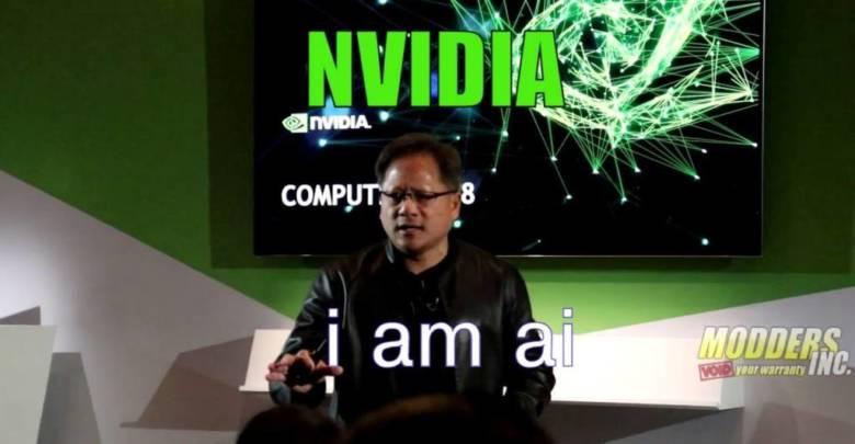 Photo of NVIDIA's Press Conference at Computex 2018
