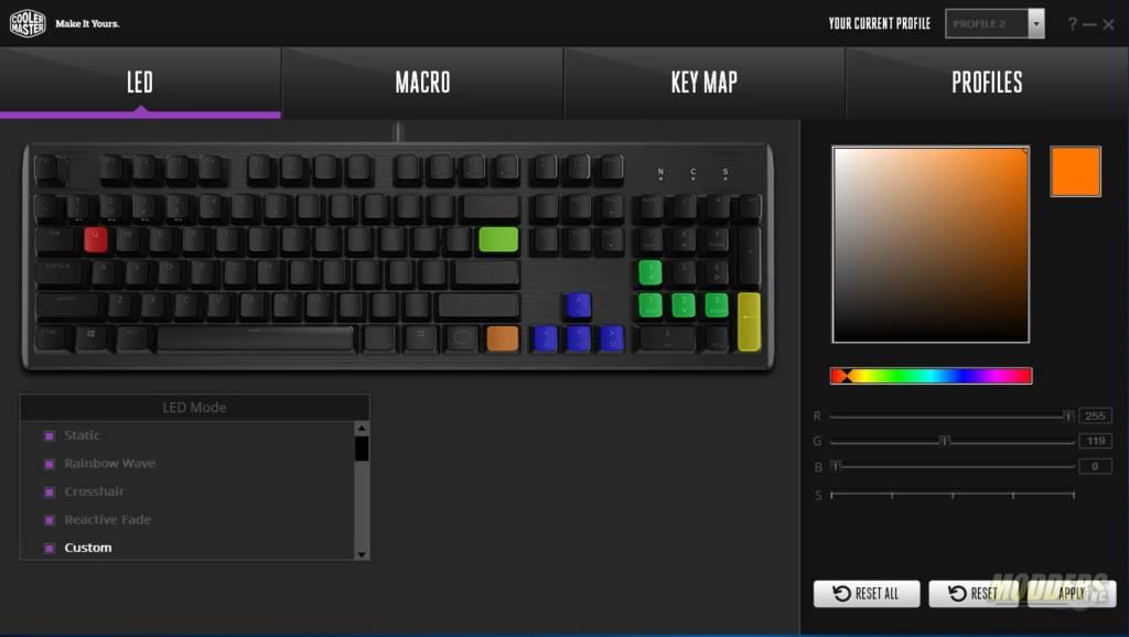 Cooler Master CK552 Full RGB Mechanical Gaming Keyboard — Page 4 of