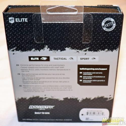 Ballistix Elite 32GB Kit (4 x 8GB) DDR4-3466 Review 32GB kit, Ballistix, Ballistix Elite, Crucial, ddr4, dram, Memory, Micron, RAM 5
