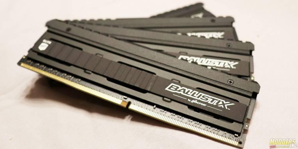 Ballistix Elite 32GB Kit (4 x 8GB) DDR4-3466 Review — Modders-Inc