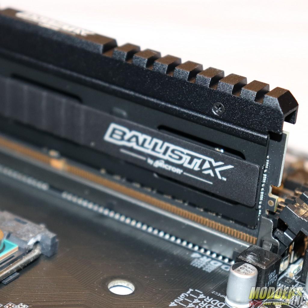 Ballistix Elite 32GB Kit (4 x 8GB) DDR4-3466 Review