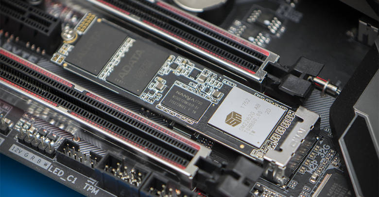 Photo of ADATA XPG SX8200 NVMe SSD Review