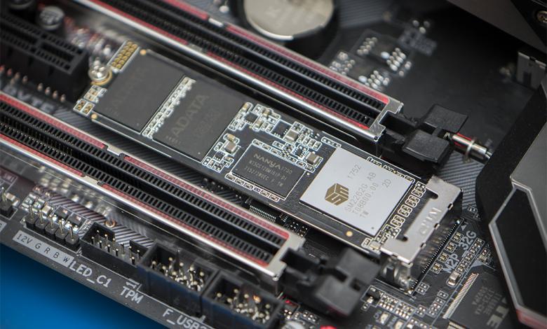 Photo of ADATA XPG SX8200 NVMe SSD Review