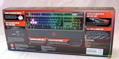 MSI Vigor GK80 Gaming Keyboard Cherry MX Silent, Gaming, GK80, Keyboard, MSI, rgb 3