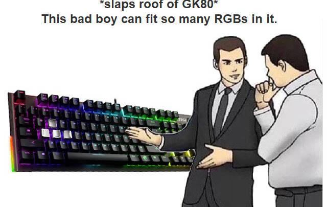 Photo of MSI Vigor GK80 Gaming Keyboard