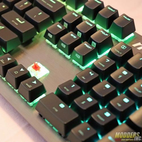 MSI Vigor GK80 Gaming Keyboard Cherry MX Silent, Gaming, GK80, Keyboard, MSI, rgb 11