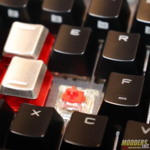 MSI Vigor GK80 Gaming Keyboard MSI GK80 Switches 8