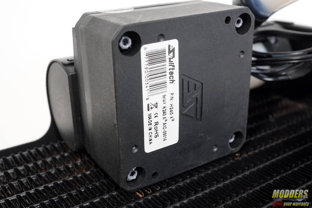 Swiftech H240 X3 All in One Cooler Review — Page 3 of 6