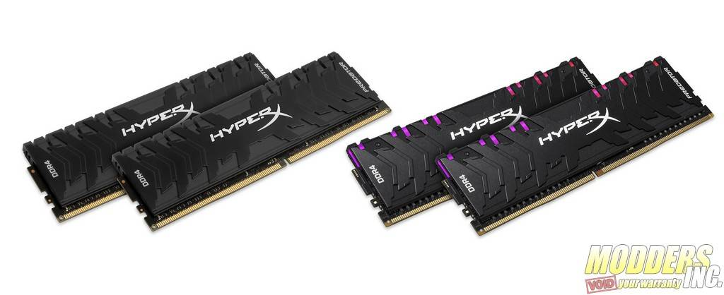 HyperX Launches New Predator DDR4 RGB and Predator DDR4 DRAM HX Predator DDR4 DDR4RGB DIMM 2