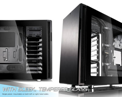 Fractal Tempered Glass Side Panel