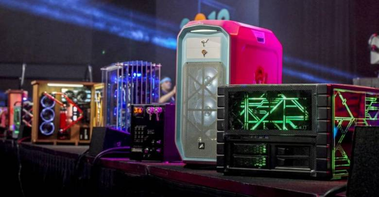 Photo of Winners of the US Case Modding Championship at Quakecon 2018