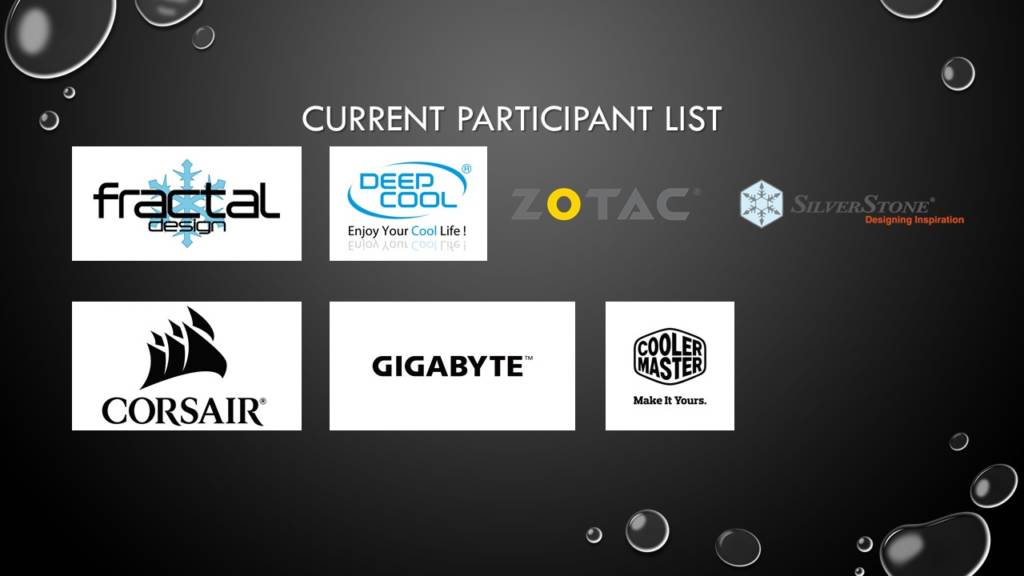 Gamers4Gamers participants list
