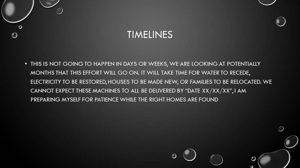G4G Timelines