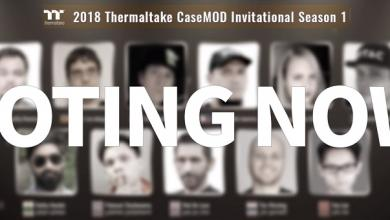 Photo of Final Voting Event Live Now For Thermaltake 2018 CaseMOD Invitational Season 1
