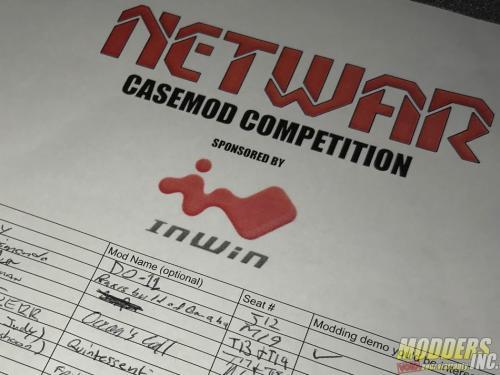NETWAR 35 Mod Contest case mod contest, LAN 13