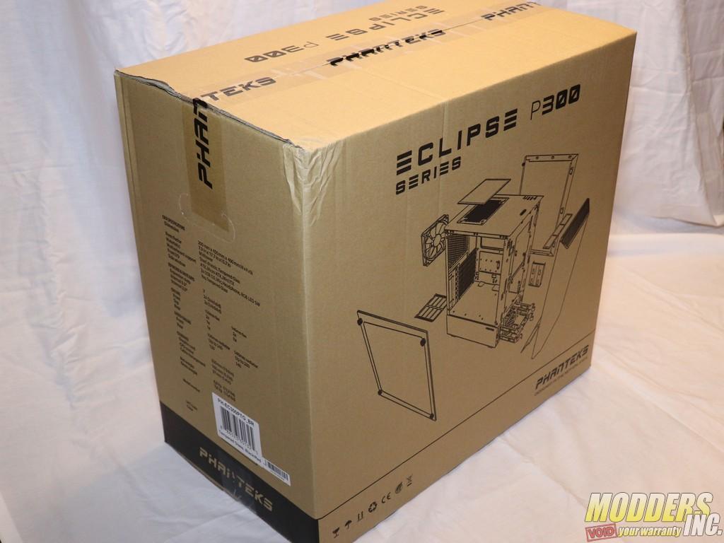Phanteks Eclipse P300 Tempered Glass Midtower Case 01 Phanteks P300 Box 8