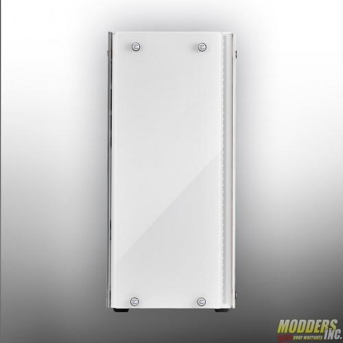 EVGA DG-77 Alpine White Midtower Review Case, EVGA, Gaming, midtower, tempered glass, vertical GPU, white 4