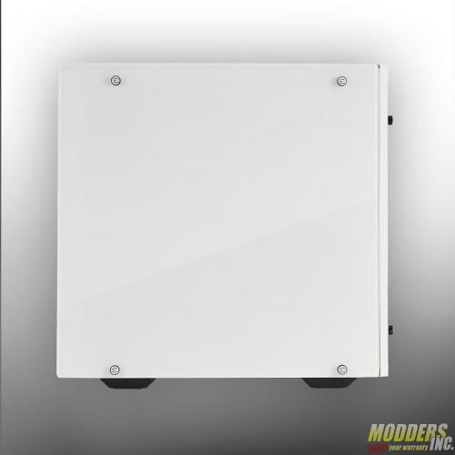 EVGA DG-77 Alpine White Midtower Review Case, EVGA, Gaming, midtower, tempered glass, vertical GPU, white 5