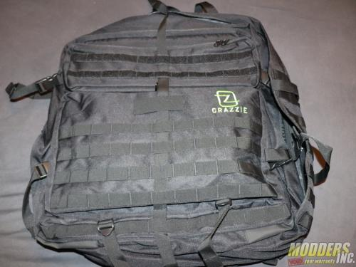 Crazzie Pro Gear GTR-1 Review backpack, Giant Tactical Rucksack, GTR-1, lan party 4