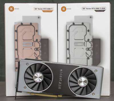 EKWB Vector GPU Water Blocks