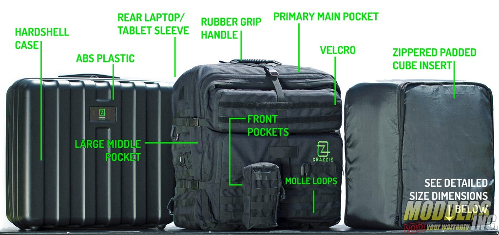 Crazzie Pro Gear GTR-1 Review backpack, Giant Tactical Rucksack, GTR-1, lan party 2