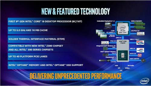 Intel Launches the I9 9900k, Flagship of the 9th Generation. 8-core, 9900k, 9th gen, Core Processors, i5 9600k, i7 9700k, i9 9900k, Intel, Intel Core I9, Z390 3