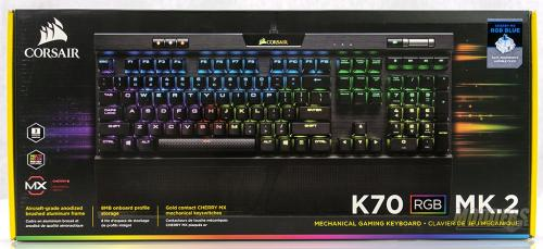 Corsair K70 Mk.2 Mechanical Gaming Keyboard Review Corsair K70 Mk.2 1