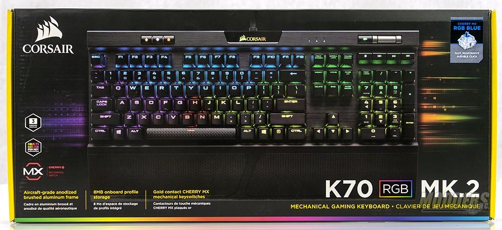 Corsair K70 Mk 2 Mechanical Gaming Keyboard Review — Modders-Inc