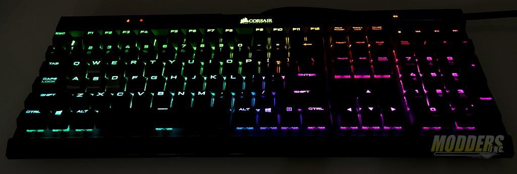 Corsair K70 Mk 2 Mechanical Gaming Keyboard Review — Page 4