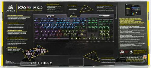 Corsair K70 Mk.2 Mechanical Gaming Keyboard Review Corsair K70 Mk.2 2
