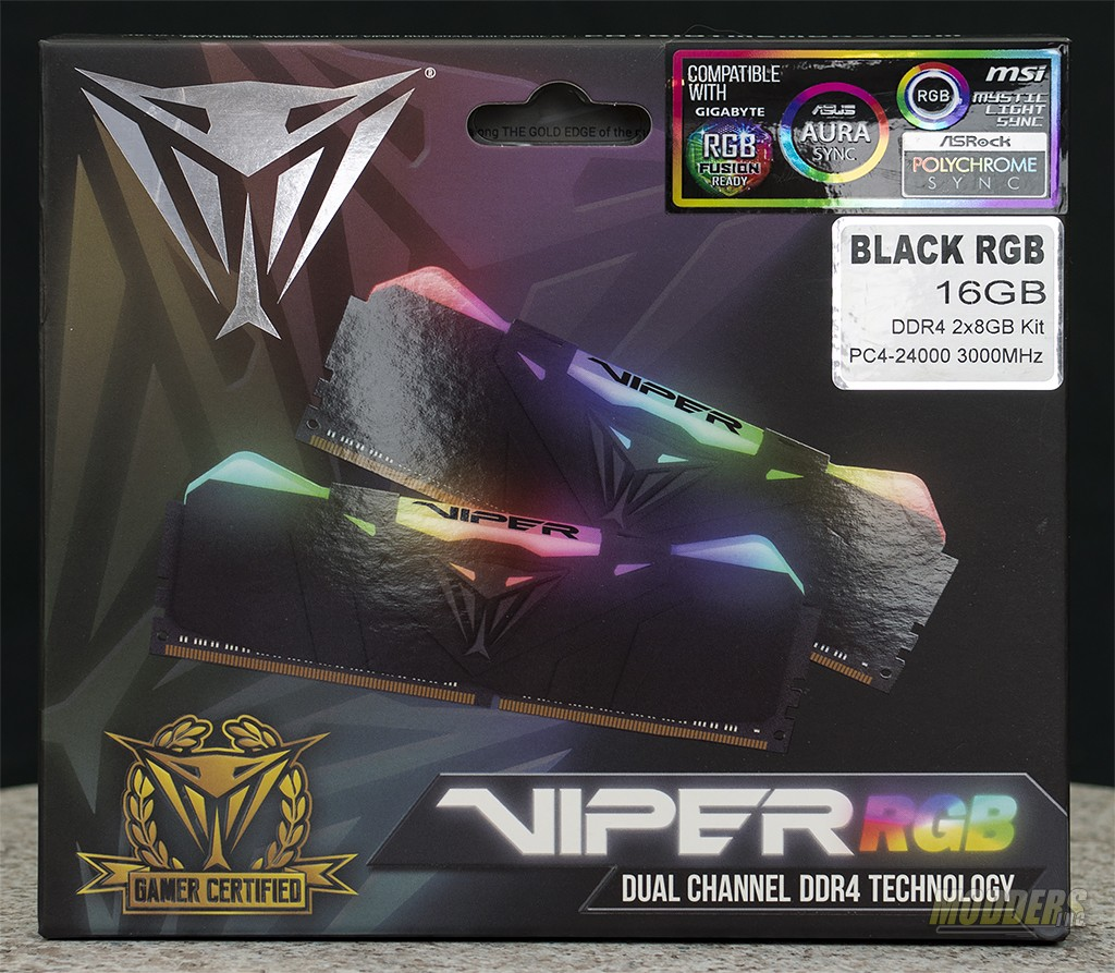 Patriot Viper RGB DDR4 3000MHz Memory Review — Modders-Inc