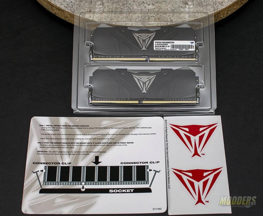 Patriot Viper RGB DDR4 3000MHz Memory Review 3000MHz, ddr4, led, Memory, Patriot, RAM, rgb led 4