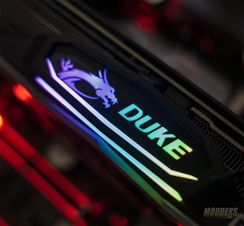 MSI GeForce RTX 2080 Duke 8G OC Graphics Card Review — Modders-Inc