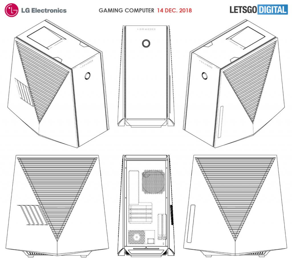 LG Gaming PC and Case — Modders-Inc