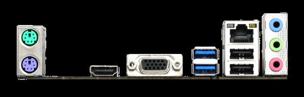 AMD A10N-8800E SoC Motherboard IO ports